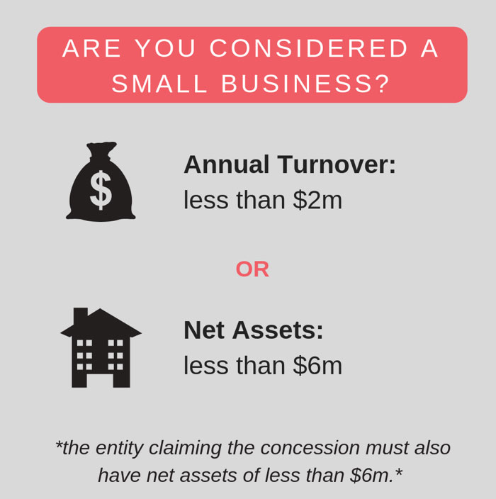considered a small business