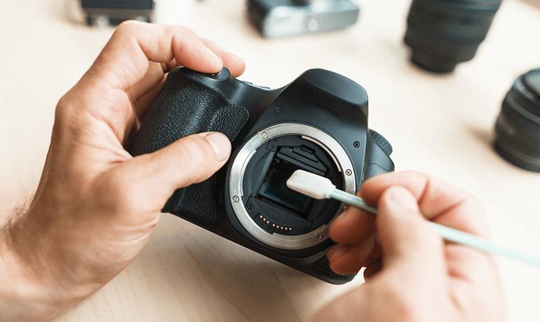 Camera repair and maintenance