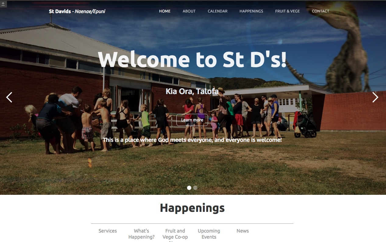 St David's home page