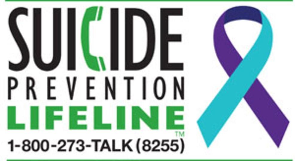 Suicide Help Line phone number.