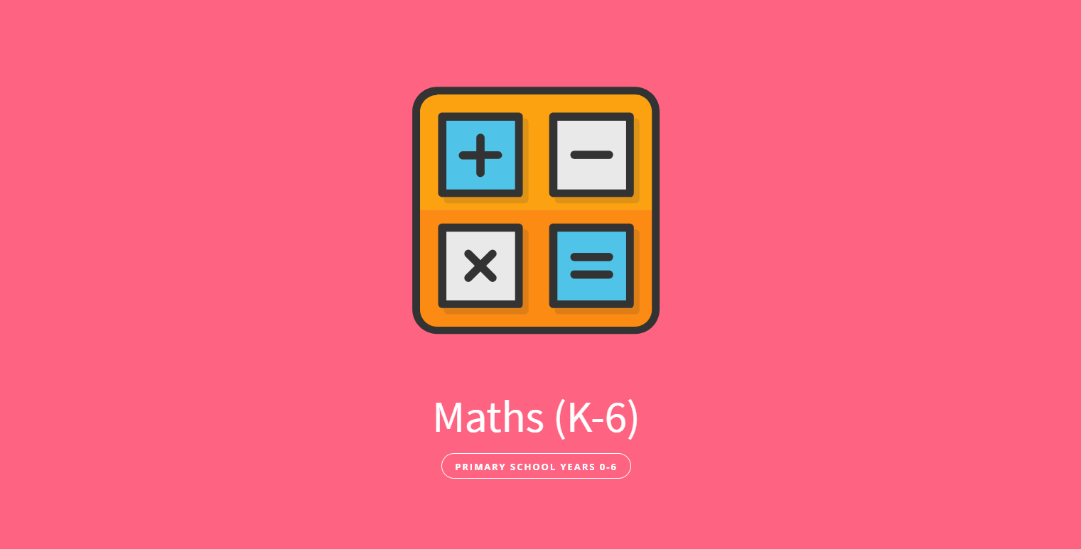 Maths (Years K-6) Private Tutoring for Primary School - Evolutionary ...