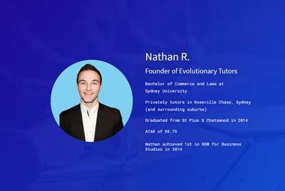 Nathan R Private Tutor Portfolio