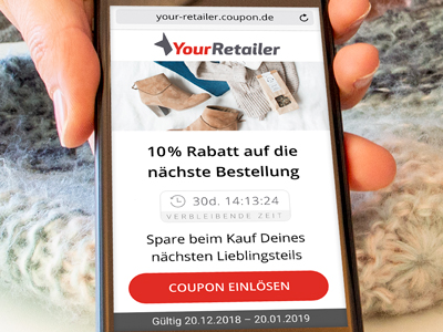 LINK Solutions - Coupons, Rechnungen, Kundenkarten und Umfragen per SMS an Endkunden schicken