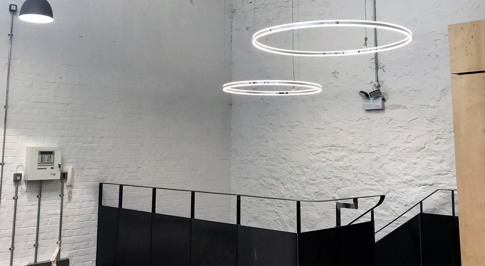 Industrial interior design at Workshed in Swindon