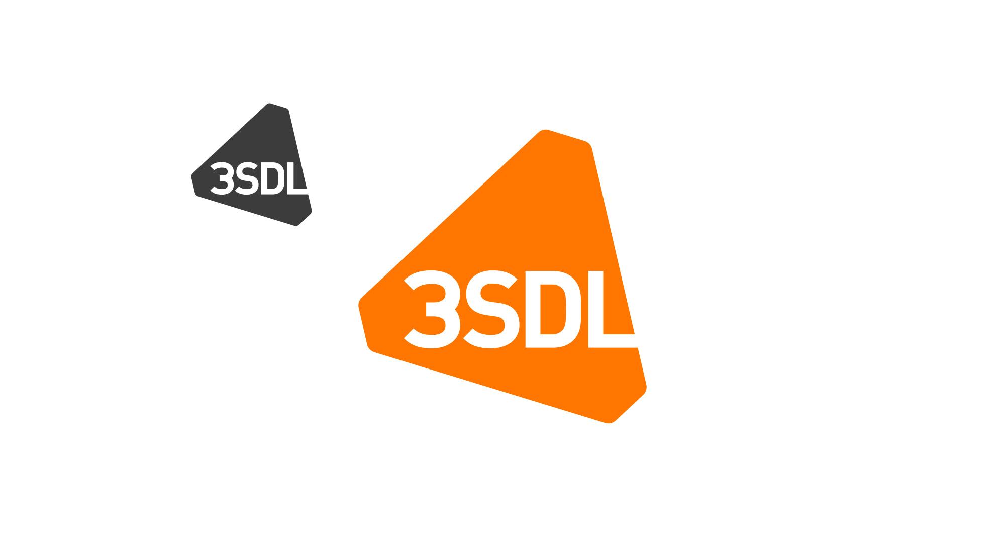 3sdl main logo and monotone logo