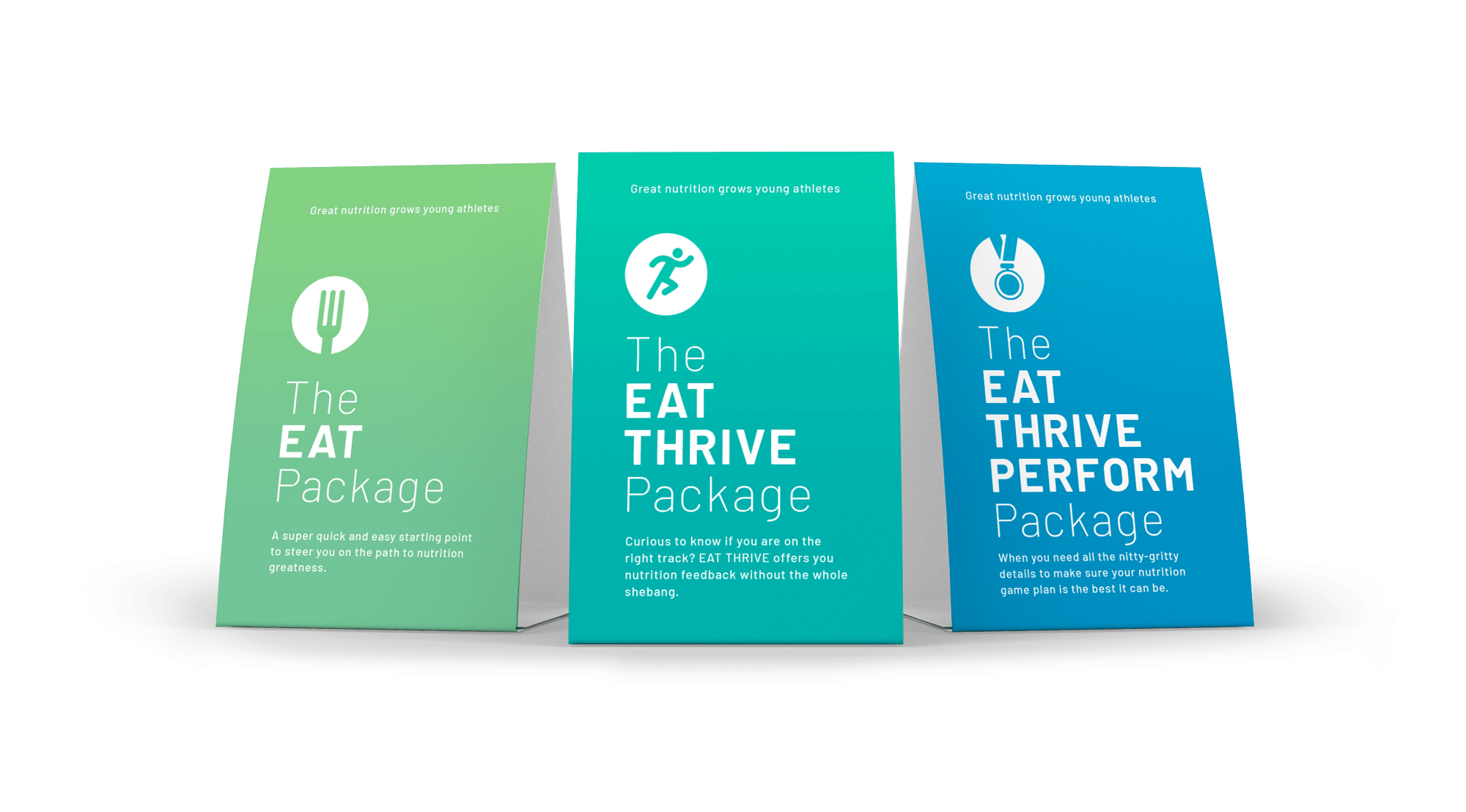 EAT THRIVE PERFORM Packages