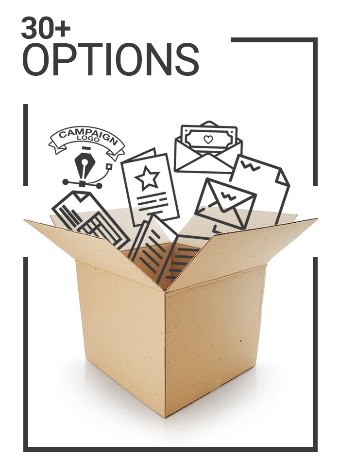 capital campaign stewardship materials options icon