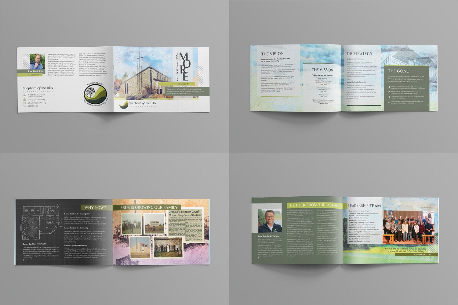 Booklet Design for Church Marketing & Outreach Ideas