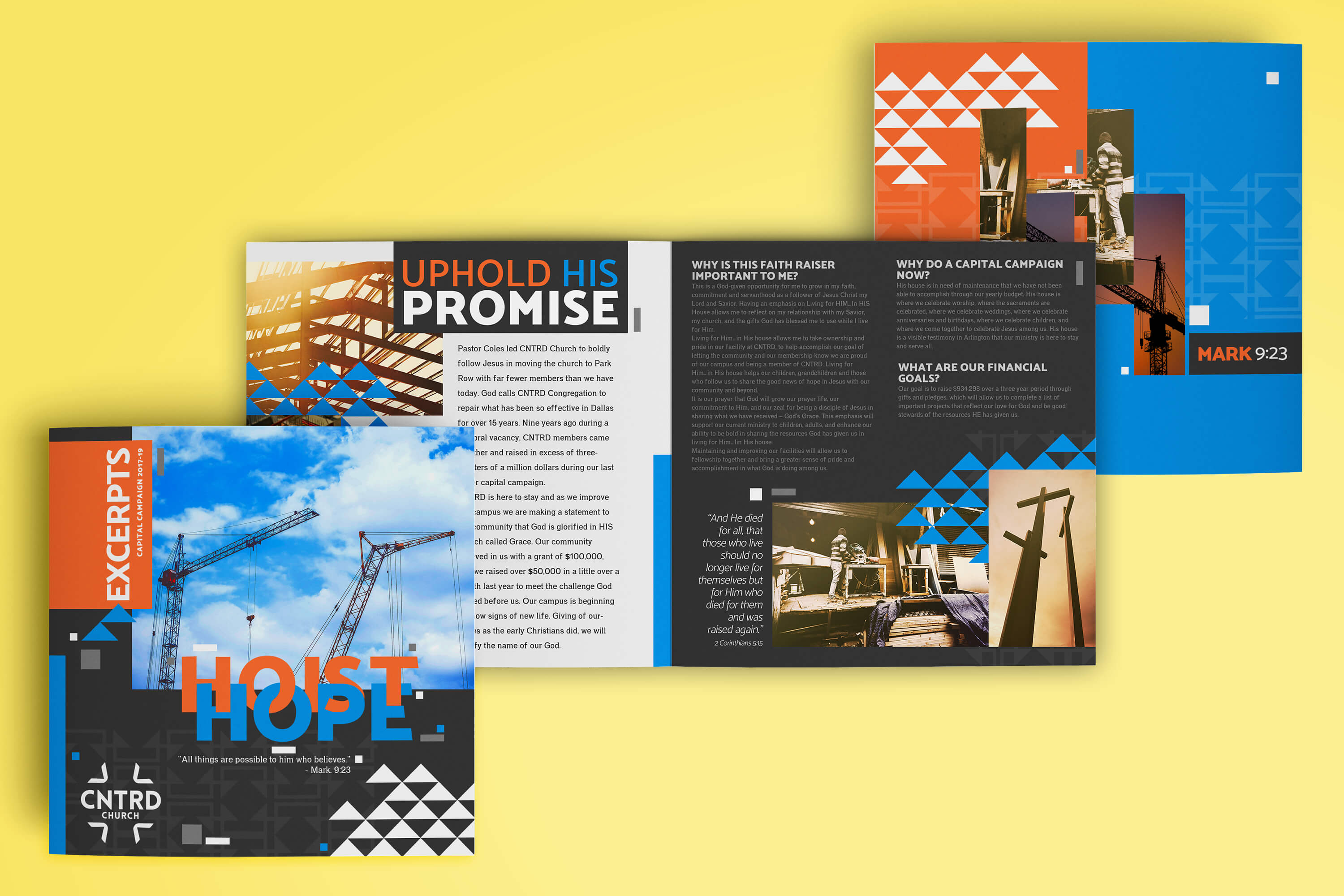 brochures for church outreach marketing design ideas