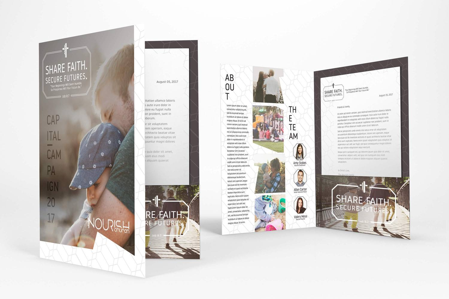 Church Folder Design for Church Marketing & Outreach Ideas