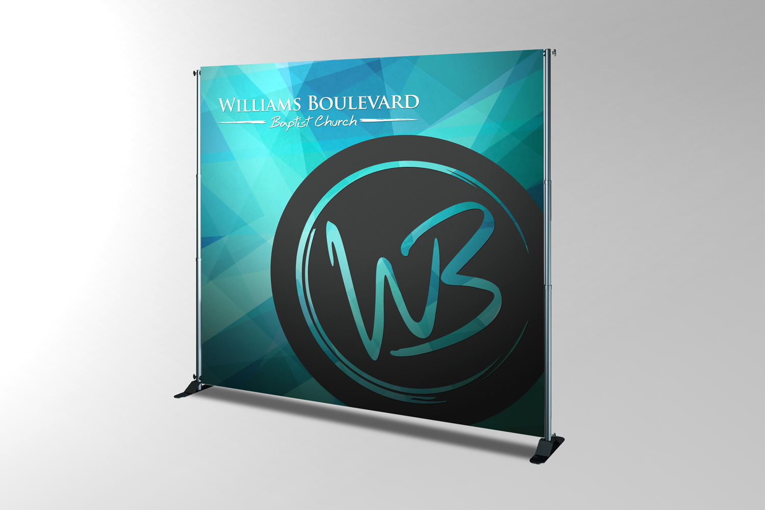 Church backdrop banner design and printing examples ideas for services