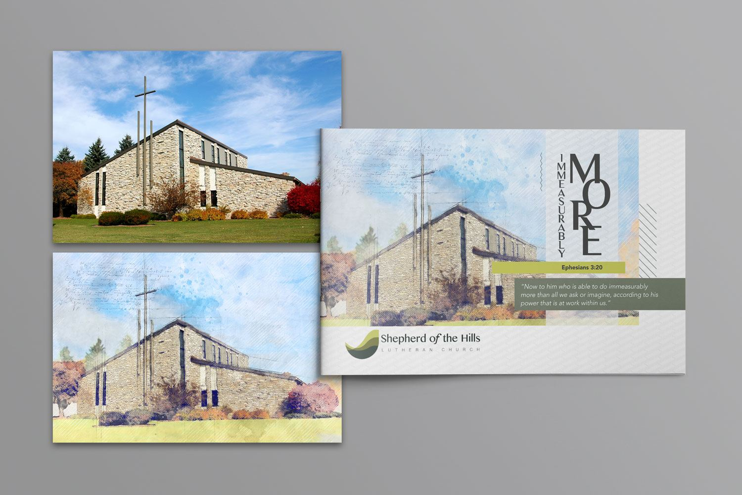 church capital campaign case statement brochure examples ideas