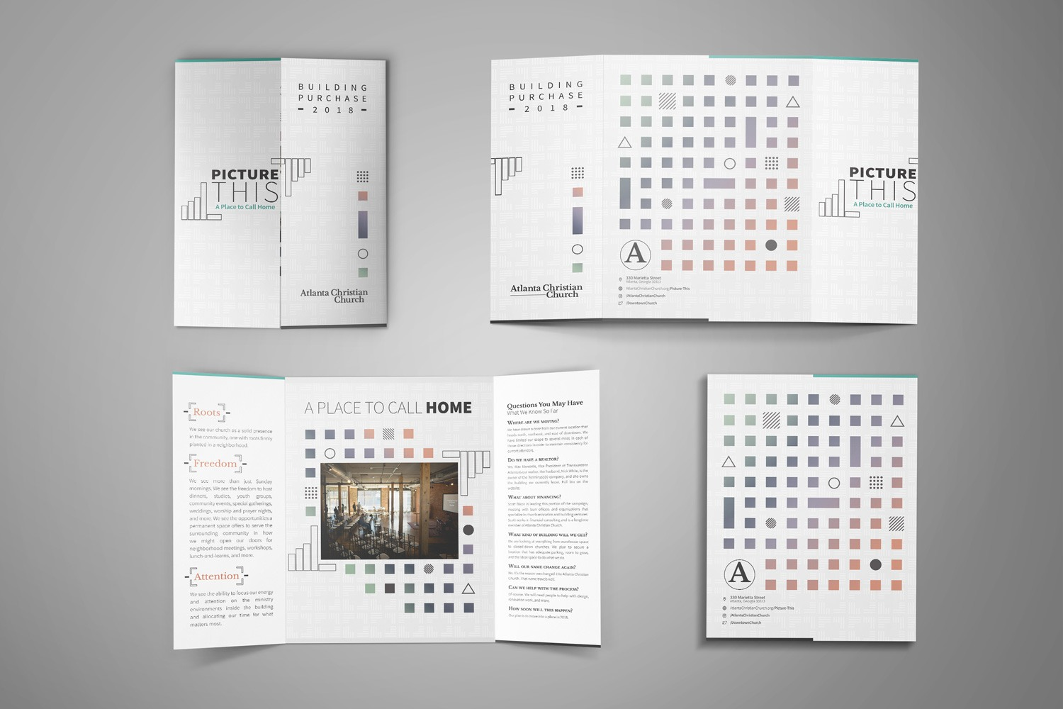 church stewardship campaign brochure examples ideas