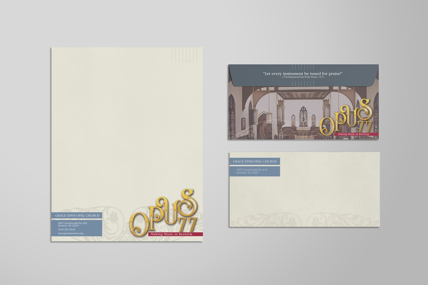 Church Capital Campaign Letterhead examples ideas
