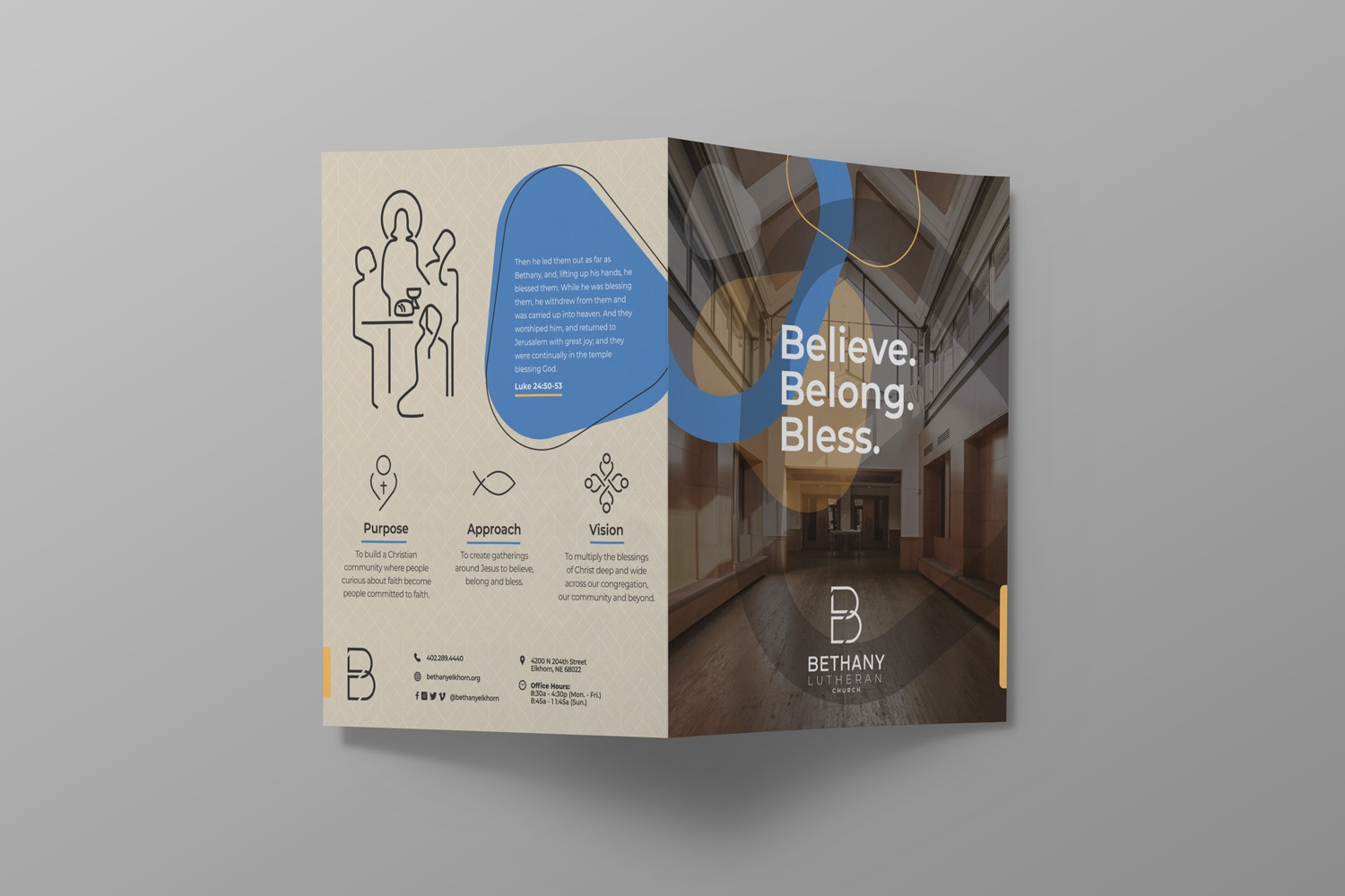 church bulletin design for church brand style guide for church branding strategy