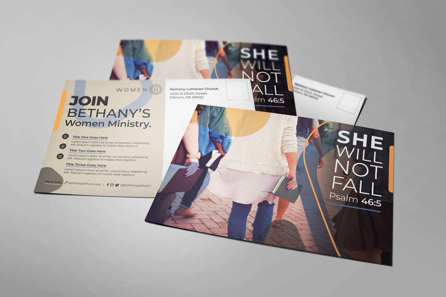 Church Postcard Mailers for Church Marketing & Outreach Design