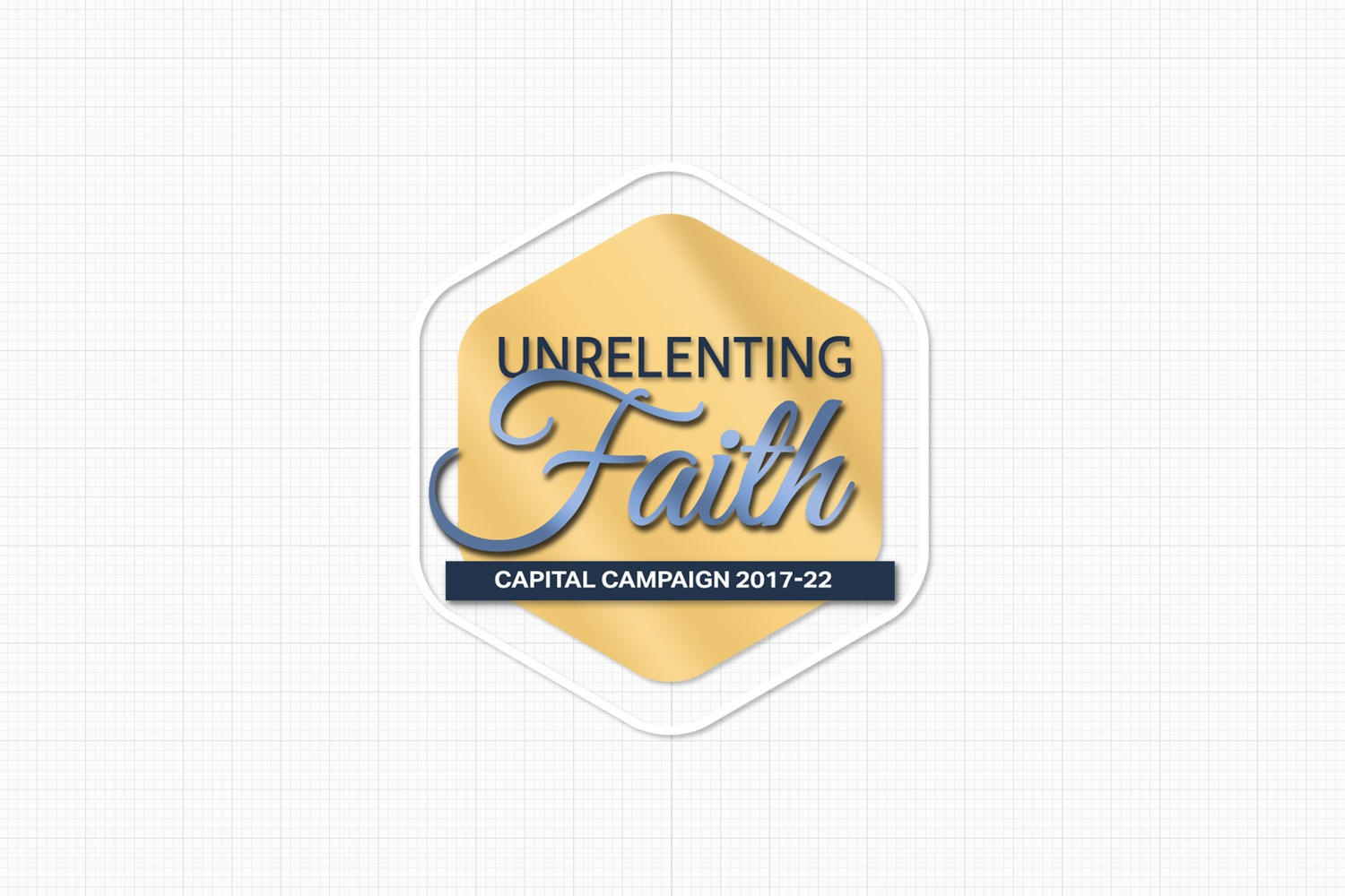 glossy church campaign slogan logo for stewardship ideas examples