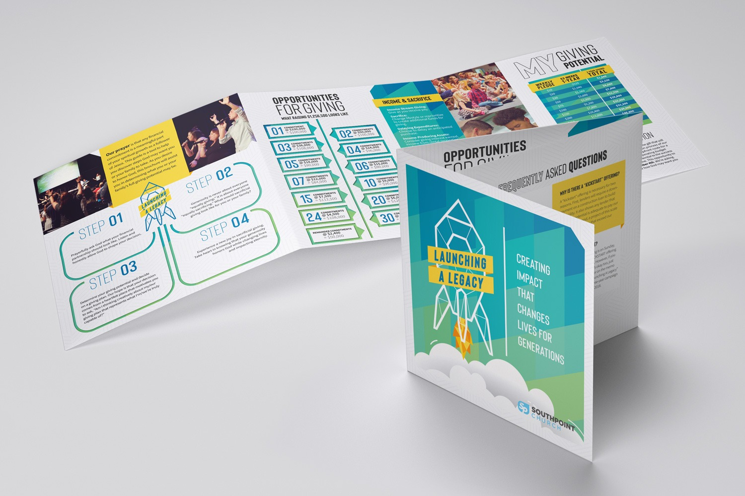 church booklet design and printing examples ideas