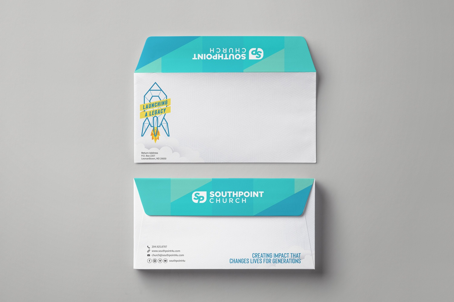 Church Capital Campaign Envelopes design and printing examples ideas