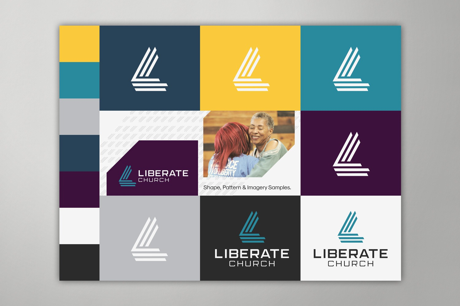church logos images and branding ideas brand guide with samples of style