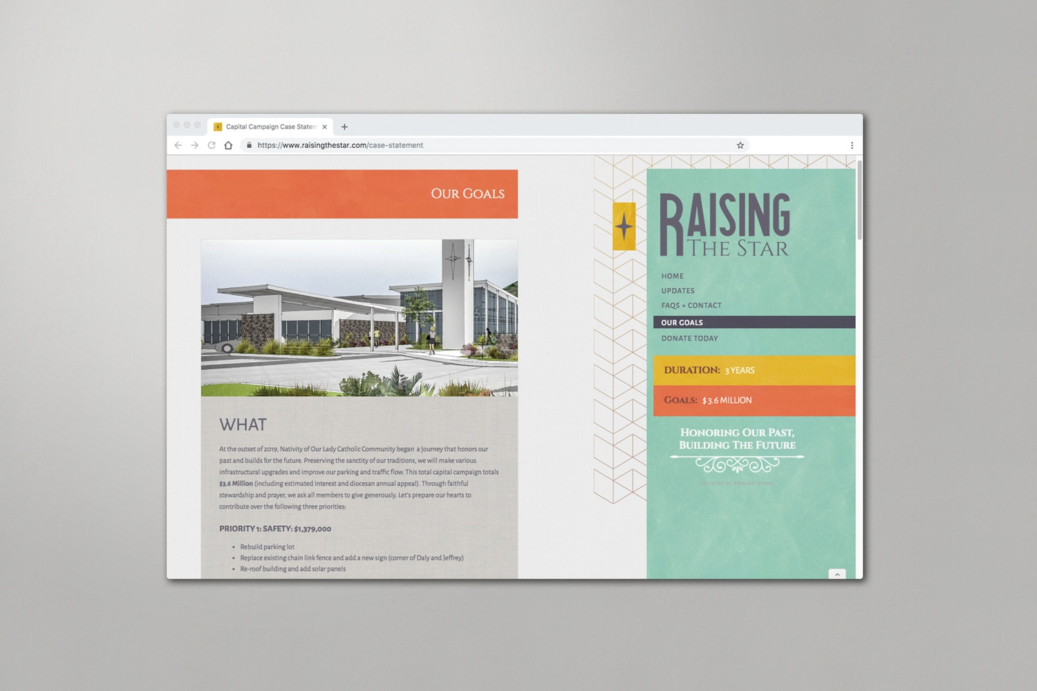 Websites For Church Capital Campaigns Design Hosting