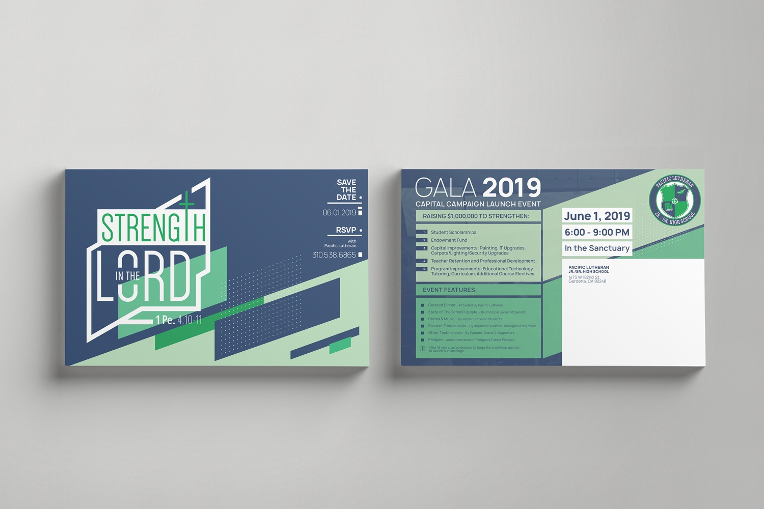 Church Capital Campaign Postcard Mailer ideas and examples by Abstract Union in Lincoln, NE