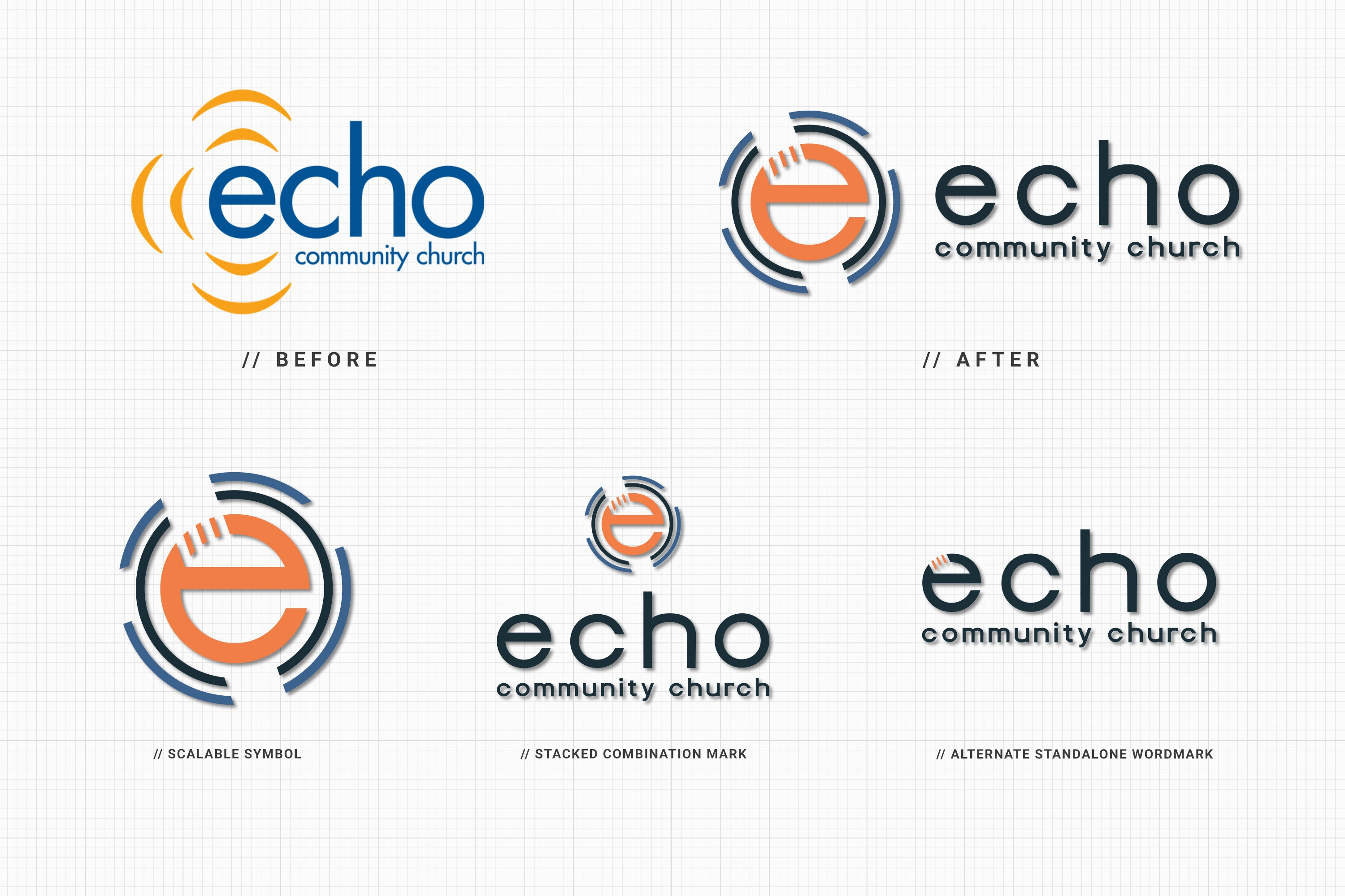 Best church branding guidelines and logo design and marketing materials by Abstract Union