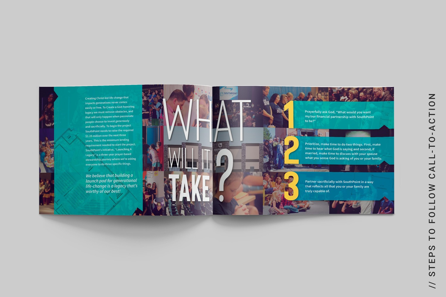 best capital campaign brochure examples of church case statement design