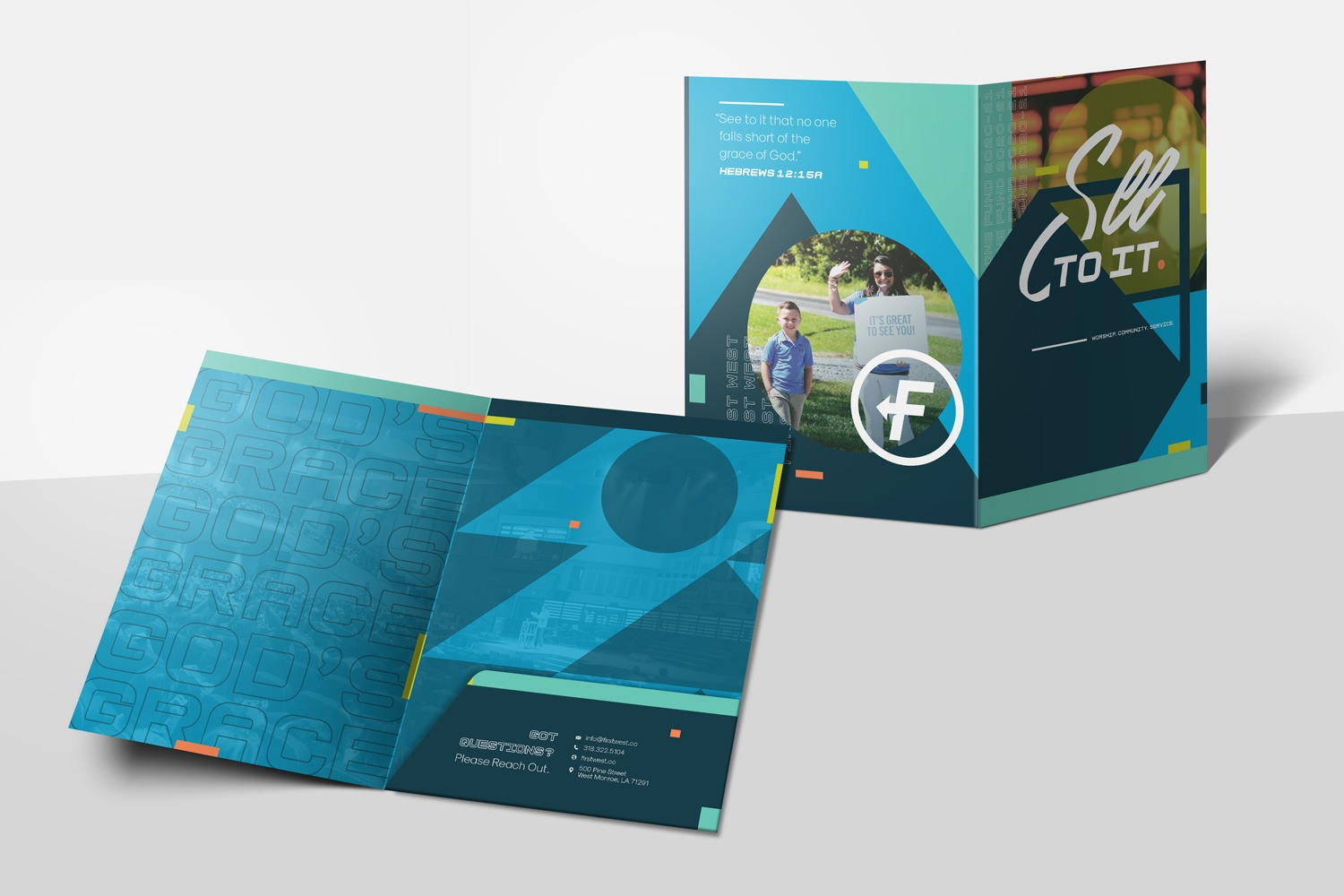 capital campaign folder design for church case statement examples
