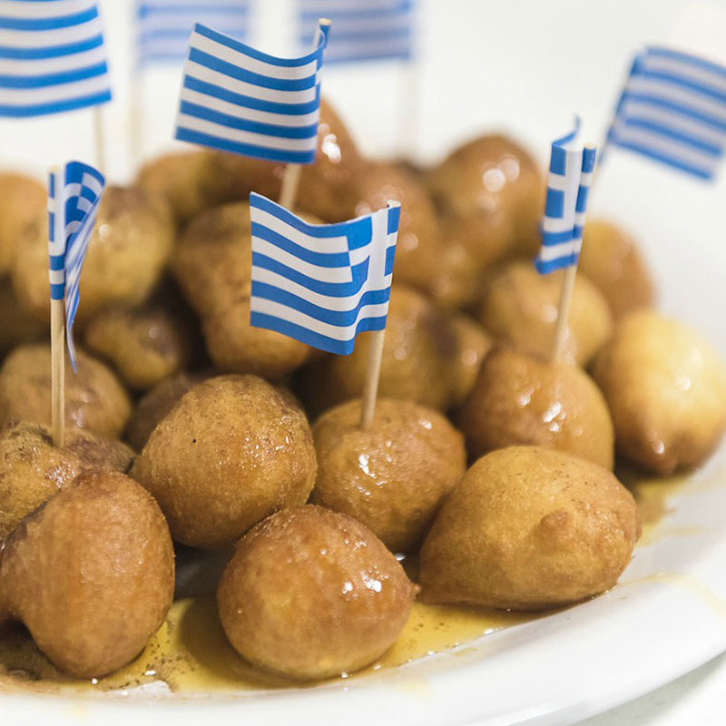 Greek Desserts Loukoumades