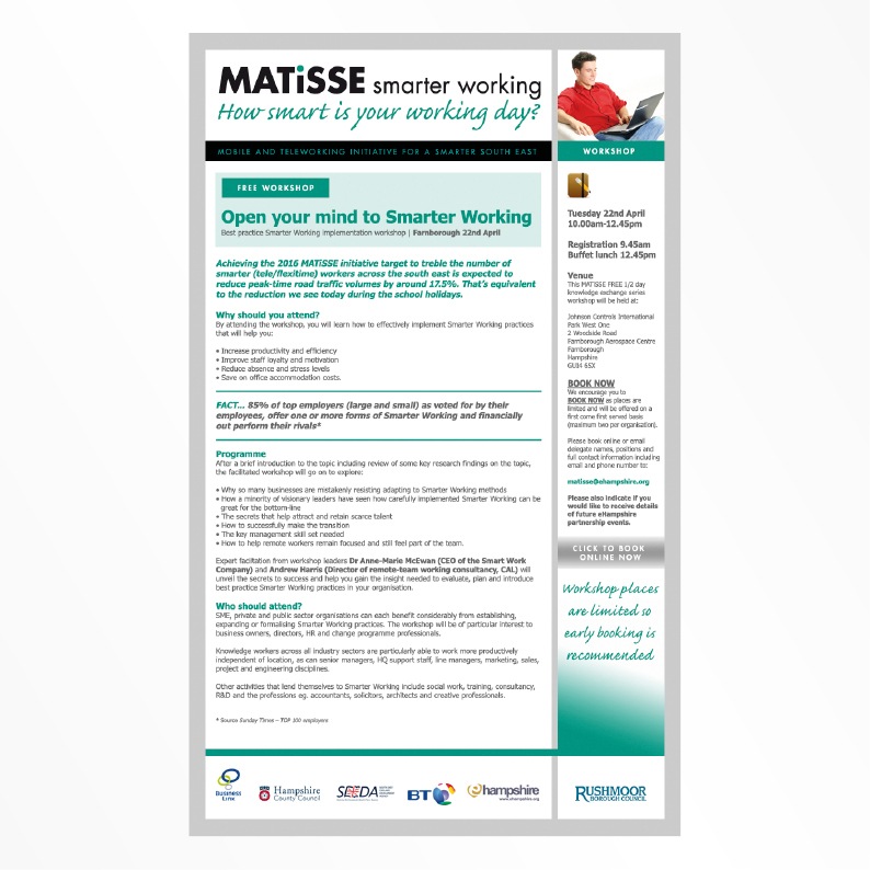 Hampshire Matisse email template