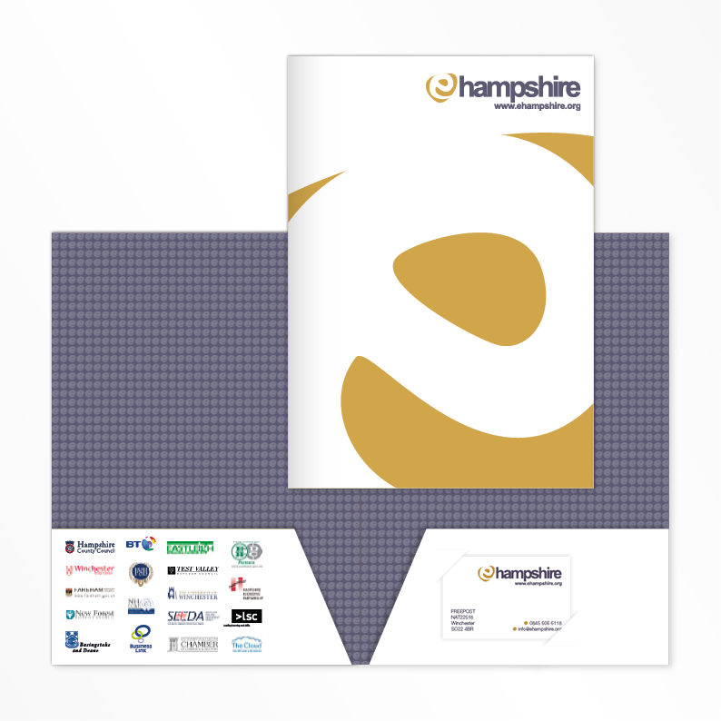 Hampshire Broadband print folder