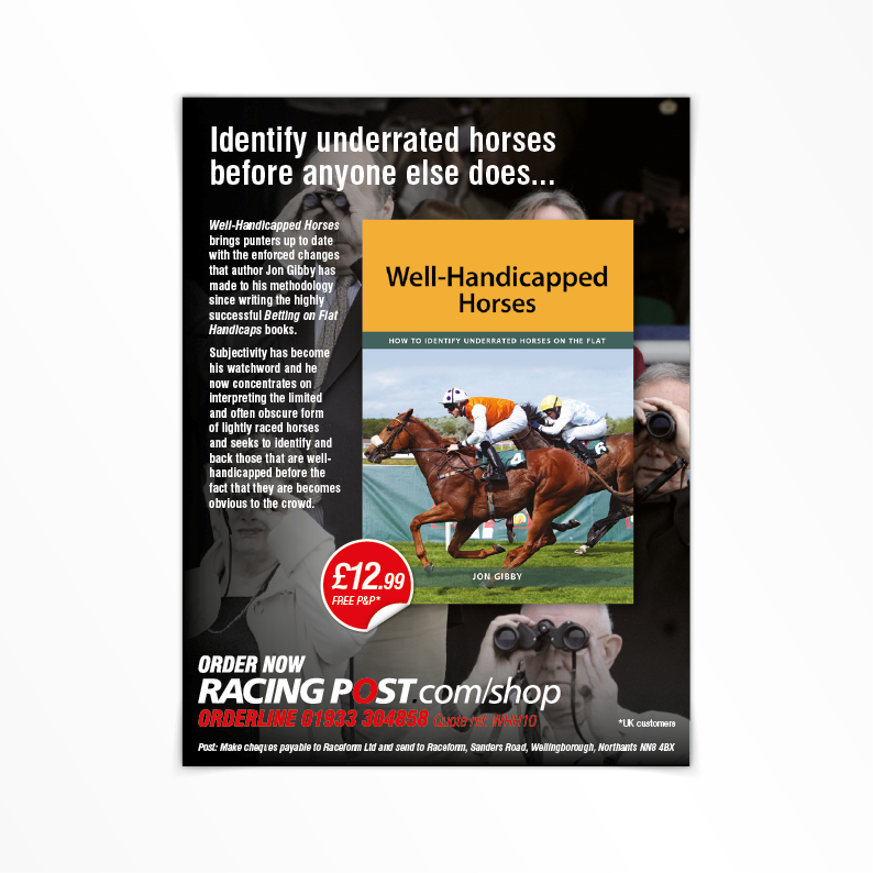 Raceform print advert