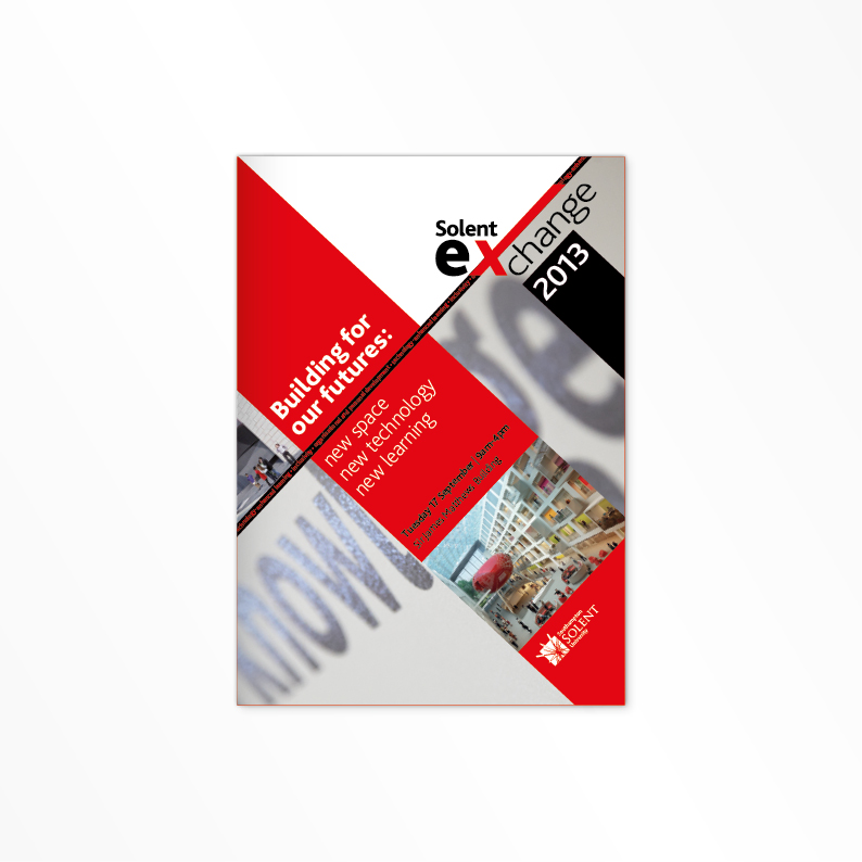 Southampton Solent University brochure cover