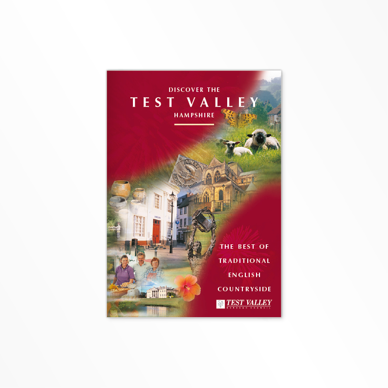 Test Valley Borough Council brochure cover