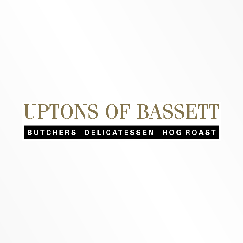 Uptons of Bassett new logo