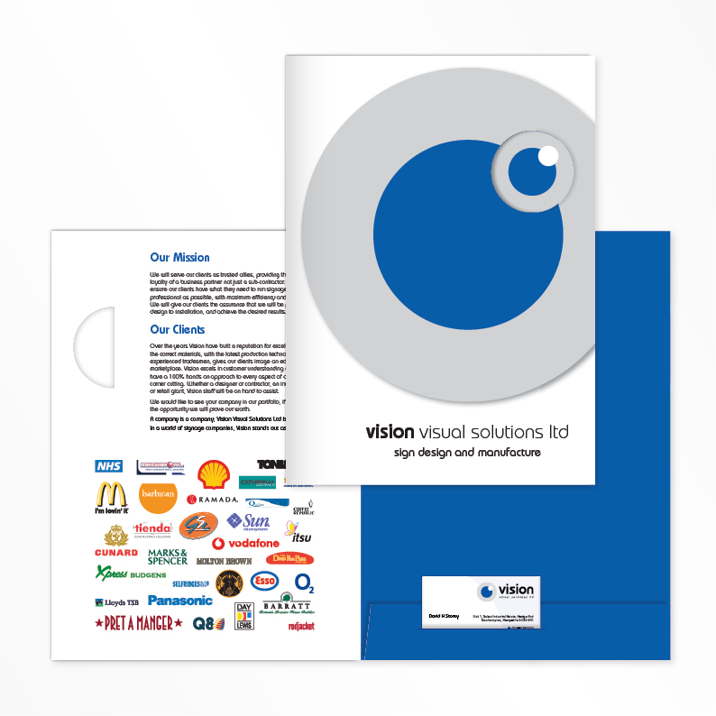 Vision Visual Solutions Ltd folder