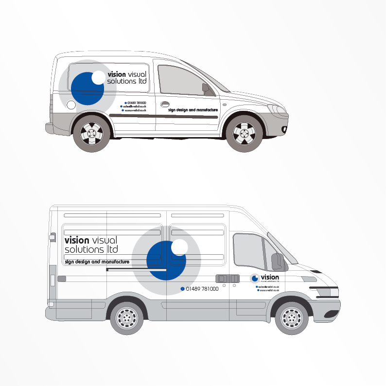 Vision Visual Solutions Ltd van livery
