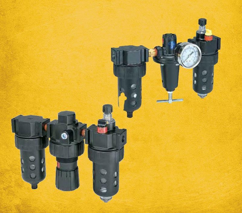 Filter Regulators & Lubricators