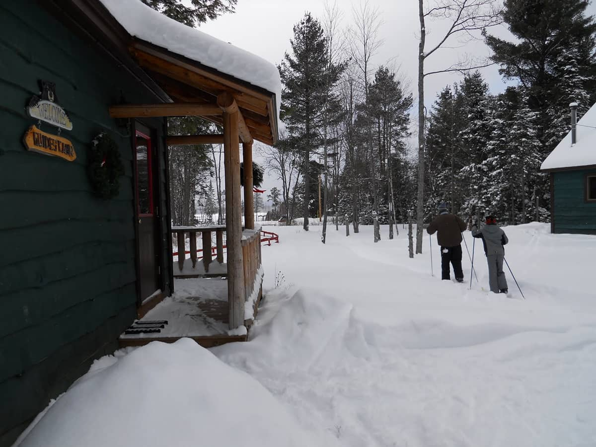 Adirondack Cabins with access to cross-country ski trails