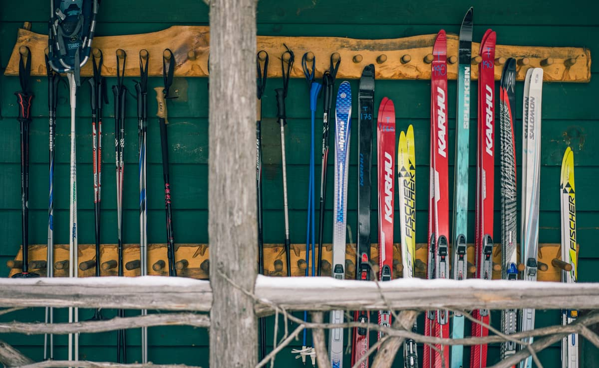 Complimentary cross-country skis and snowshoes with your lodging stay