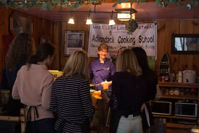 Traditional Foods Cooking Demonstration with Chef Cathy Hohmeyer