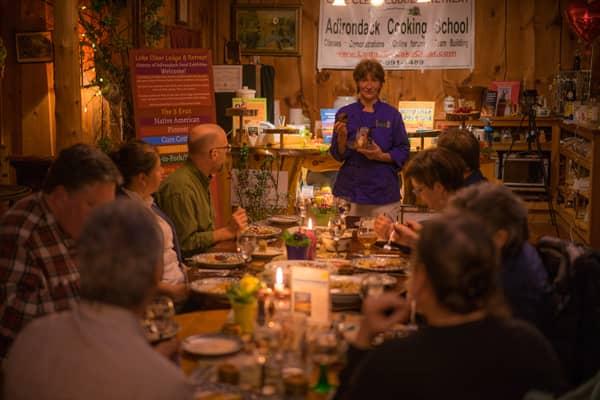 History of Adirondack Food Tasting Event
