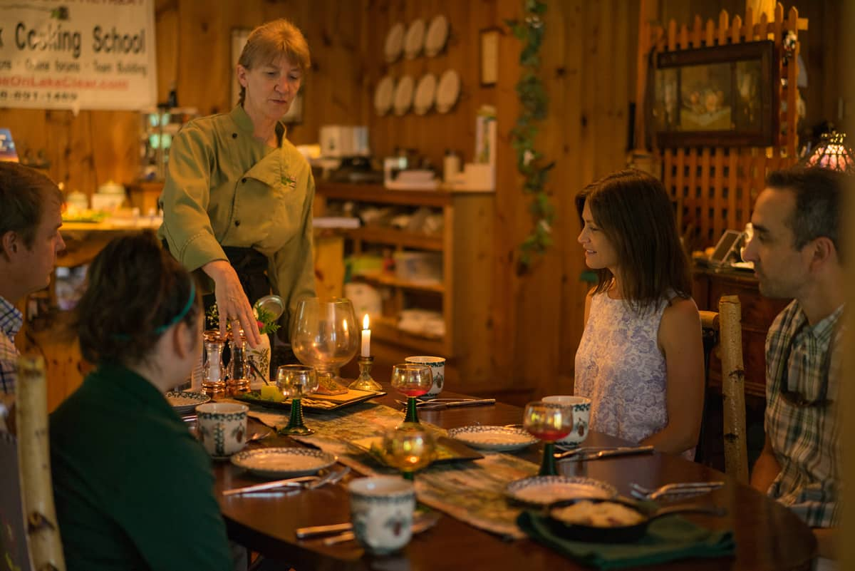 History of Adirondack Food Dinner with Executive Chef Cathy Hohmeyer