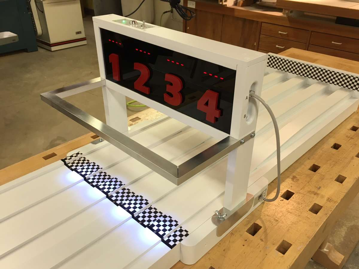 Yet Another Arduino Based Track Timer Page 6 Derby Talk Pinewood Finish Line Lamps Image
