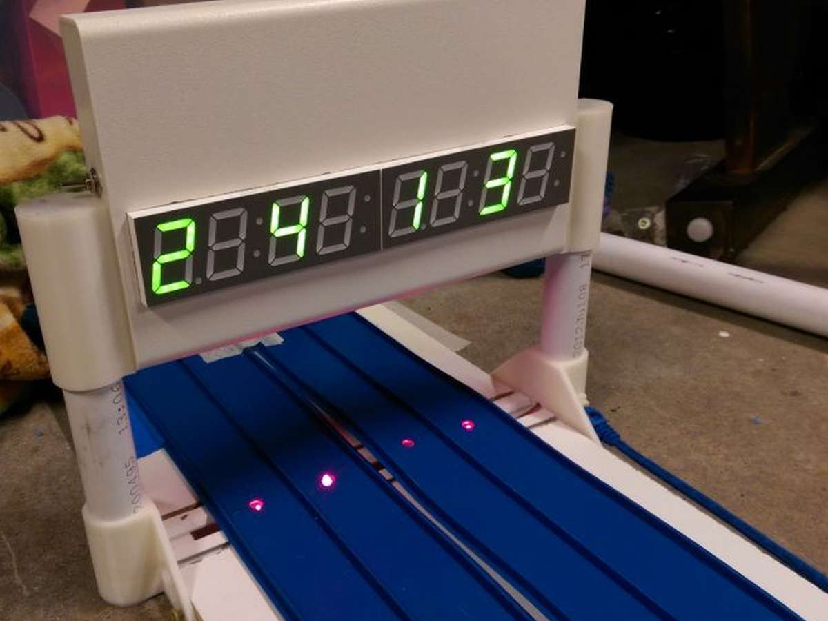 Front of timer