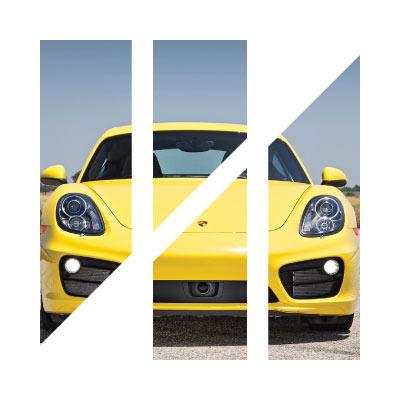 Project Detail: P+D geometric symbol for a premium Australian auto detailing company.