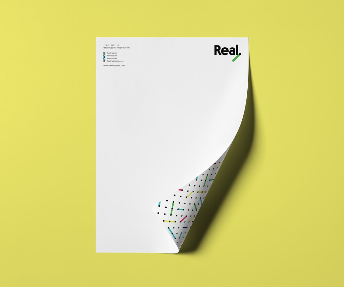 Letterhead Design for Real