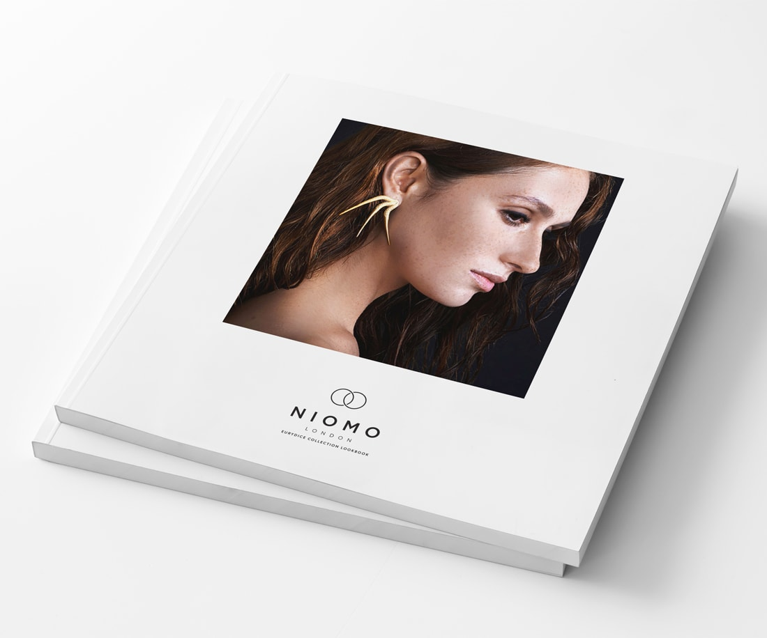 Niomo jewelry brand lookbook.