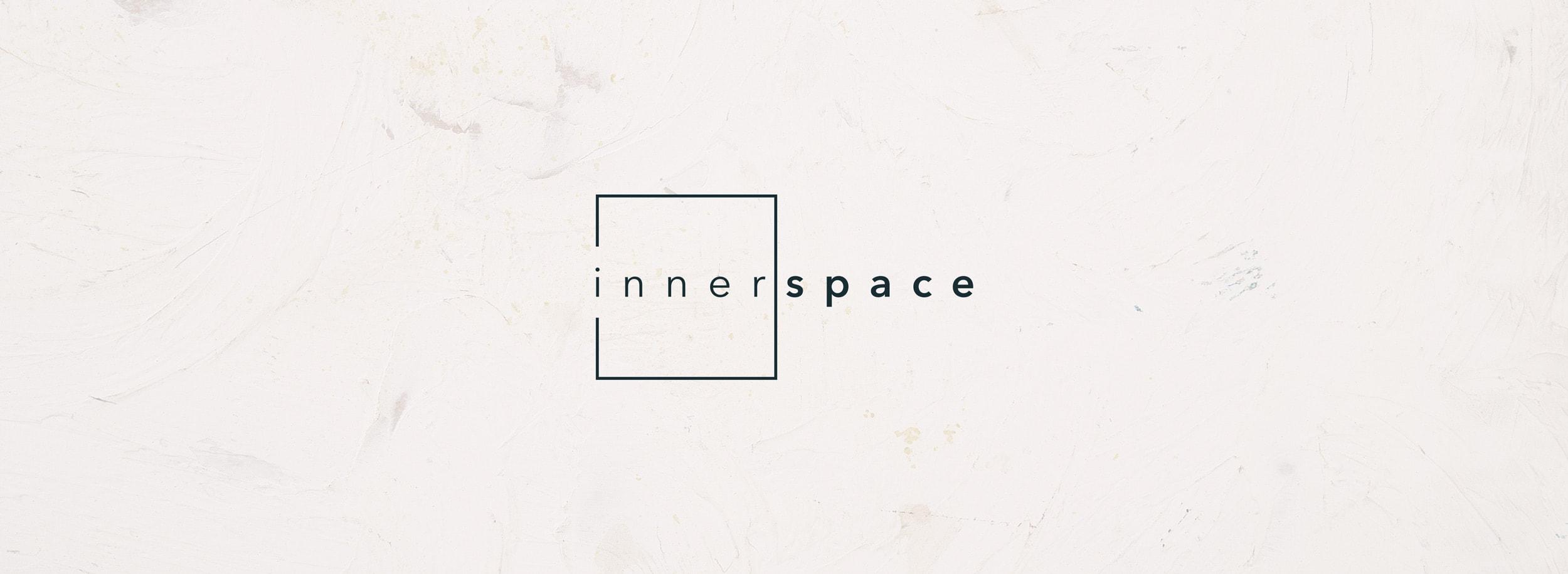 Innerspace logo: minimalist and meaningful geometric symbol. © LET'S PANDA